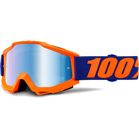 100% Accuri Anti Fog Mirror Goggles Origami